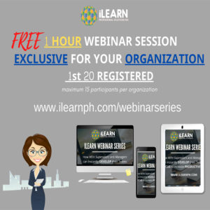 FREE 1 Hour Exclusive Webinar Session